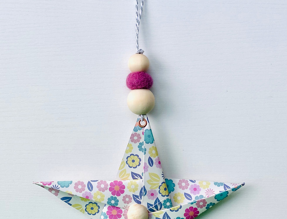 "HANGING STAR ""FLOWER"""