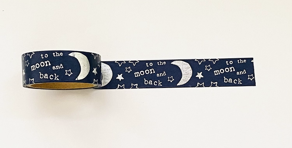 """WASHI TAPE """"TO THE MOON"""""""