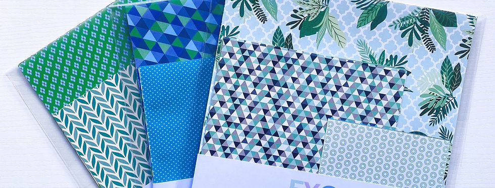 LUCKY DIP PAPER PACK TURQUOISES