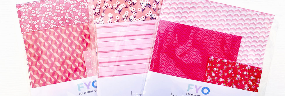 LUCKY DIP PAPER PACK PINKS