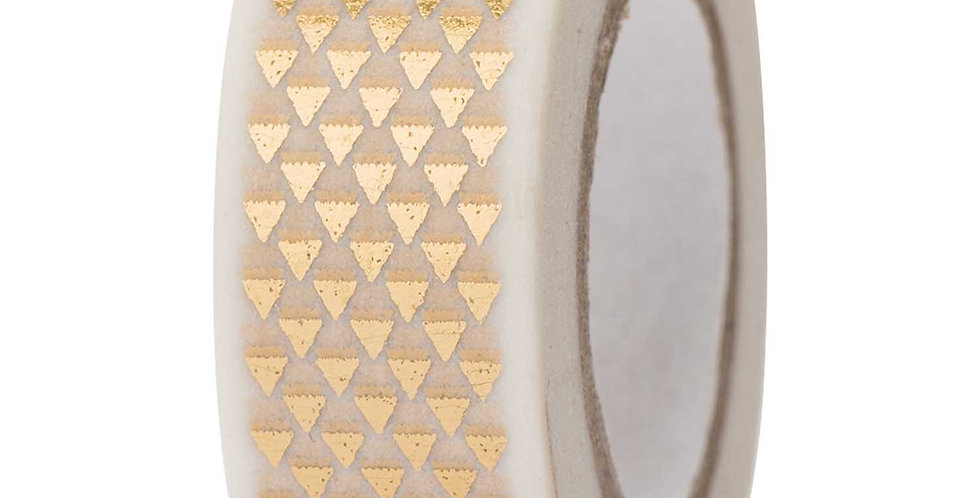 "WASHI TAPE ""GOLD TRIANGLE"""