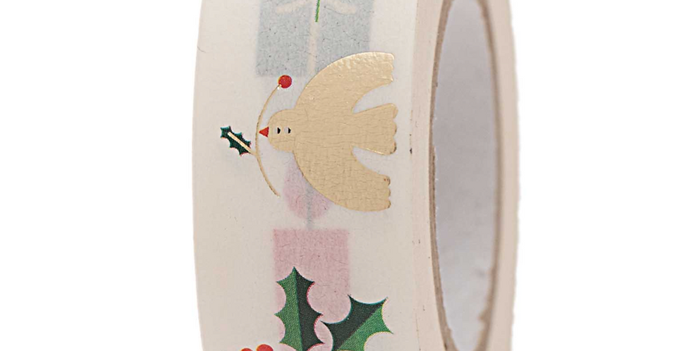 "WASHI TAPE ""WHITE XMAS"""