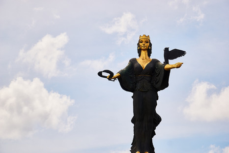 Saint Sofia Statue (8 minute walk)