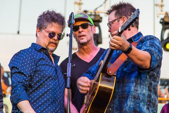 Woodstock tribute - finale with Tom Ryan, Paul Thorn, Patrick Blanchard