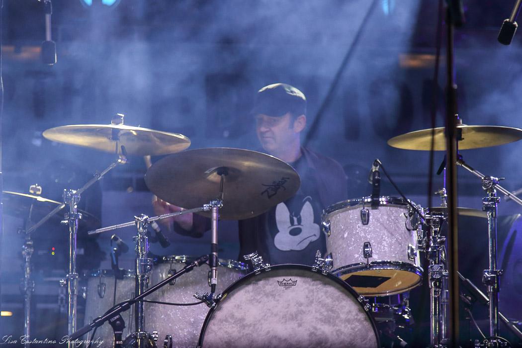 Gerry Hansen in the fog