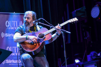 Steve Earle during his Sirius Session at Sea