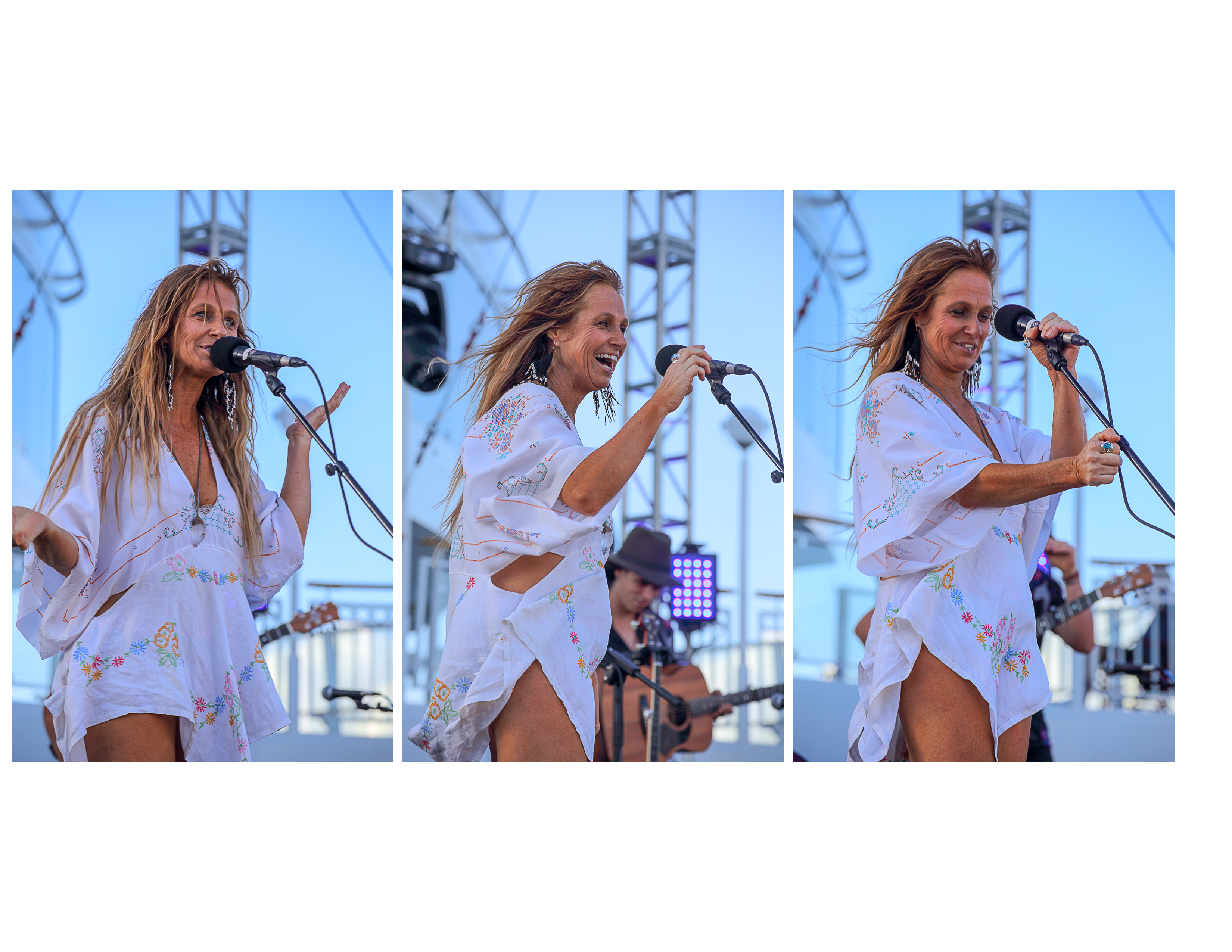 Kasey Chambers knickers triptych
