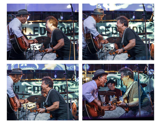 Shawn Mullins and Tom Ryan quartet