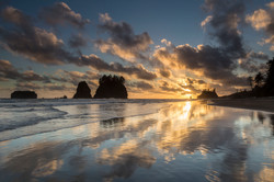 Sunset at Second Beach