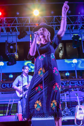 Margo Price with baby bump