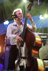 Chris Wood of The Wood Brothers