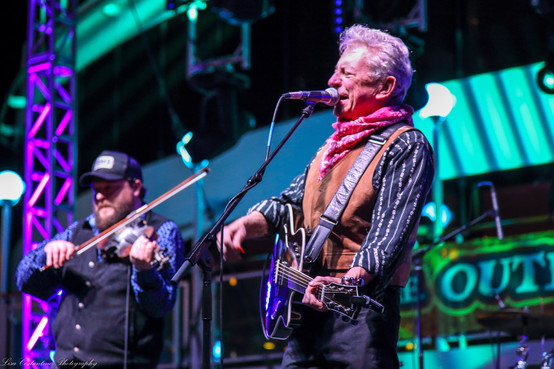 Joe Ely and Cody Braun