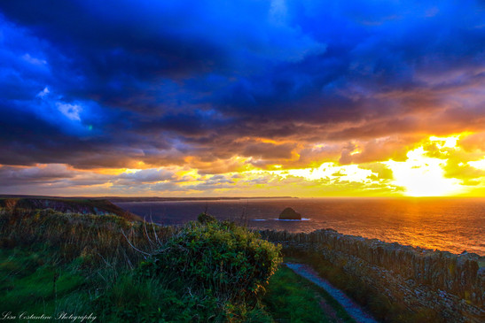 Snippet of the South West Coast Path, Cornwall