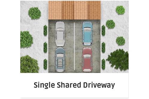 Single Shared Driveway