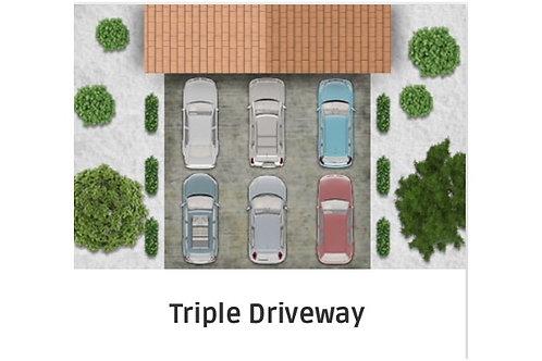 Triple Driveway