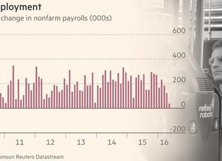 米国 5月の雇用者数増加38,000人