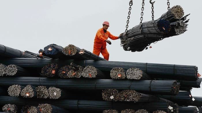 China posted encouraging growth figures on Friday © AFP