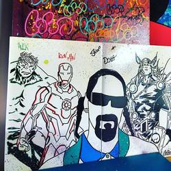 #snoopdogg #marvel #hulk #ironman #thor #streetart #art #artist #cobo #schoolartstreet #graffiti #gr