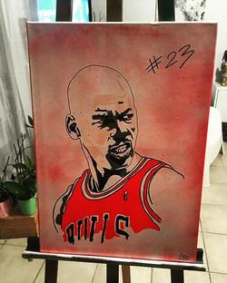 #legend #sport #basketball #jordan #artist #cobo #schoolartstreet #streetart #art #street #chicagobu