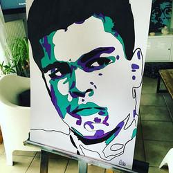 #cassiusclay #mohammedali #boxe #streetart #art #schoolartstreet #artist #cobo #instadaily #instart