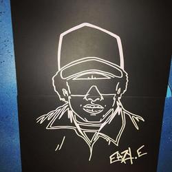 #inprogress #draw #easye #streetart #cobo #artist #40hiphop #graff #graffiti #hiphop #rap #usa #expo