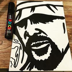 In progress #cobo #artist #expo #40hiphop #streetart #hiphop #graff #graffiti #rap #oldschool #insta