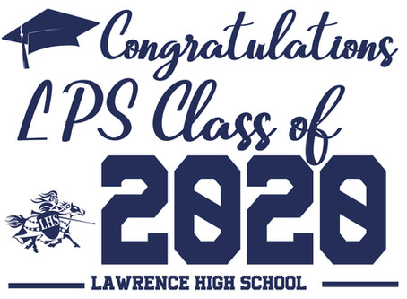 FeelGood Friday: Lawrence Public Celebrates the Class of 2020 Graduation!