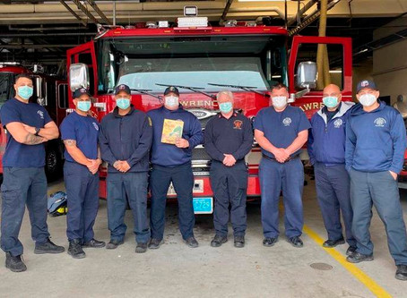 FeelGood Friday: Lawrence Firefighters read bedtime story to children on video