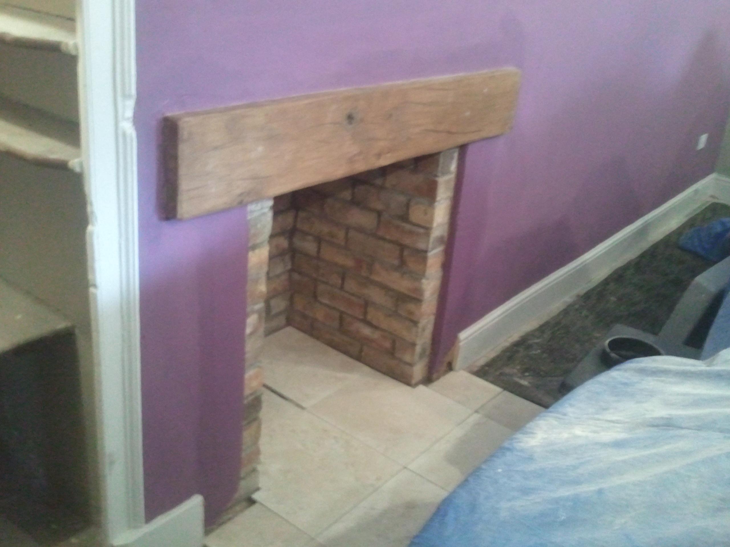 Fireplace, Westbury.