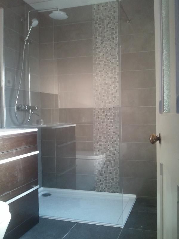 En suite shower room, Calne.