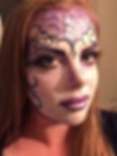 Glamourween face paint