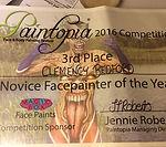 Paintopia certificate