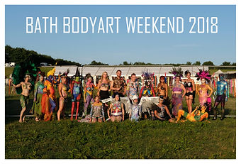 Bath Bodyart Weekend 2018 group photo