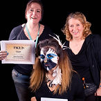 Face painting competition winner