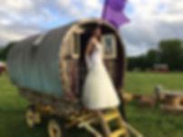 Gypsy wedding body paint