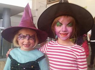 Cute Halloween face paints