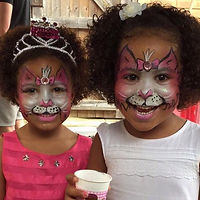 Pretty kitty facepaint