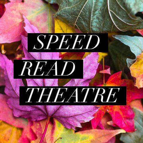 Speed Read Theatre