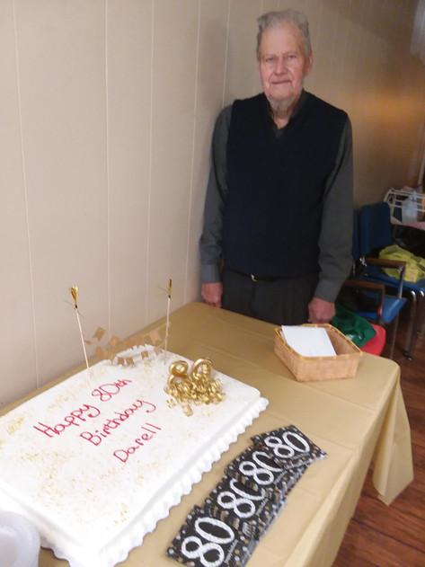 Darell's Birthday Cake