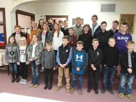 Country Pals and Friendly Freemount 4H Clubs