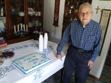Pastor Harrison's Birthday