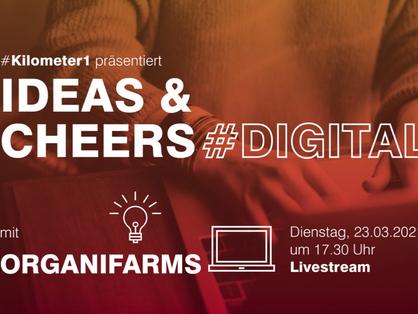 Live Talk @ Ideas & Cheers | 23.03. 5:30pm