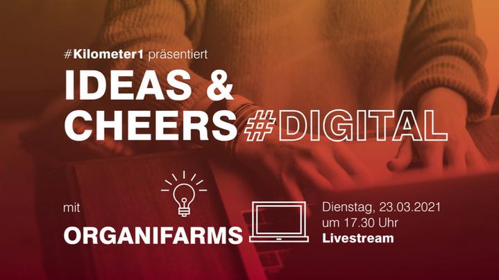 Live Talk @ Ideas & Cheers   23.03. 5:30pm