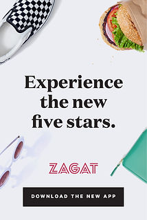 Example ad: Experience the new five stars.