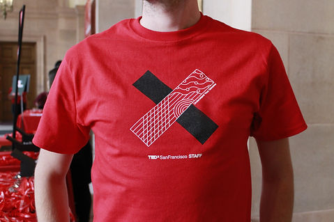 Graphic printed on a T-shirt