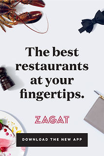 Example ad: The best restaurants at your fingertips.