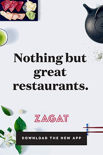 Example ad: Nothing but great restaurants.