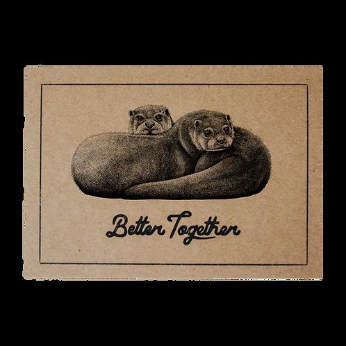 Better Together Postcard