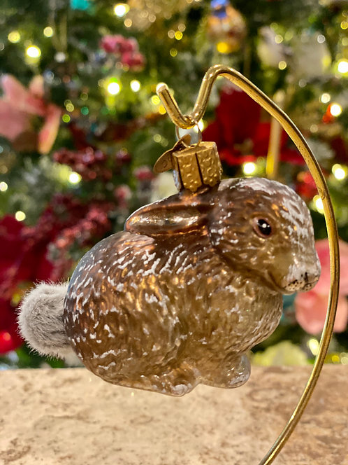 Old World Christmas Rabbit Ornament