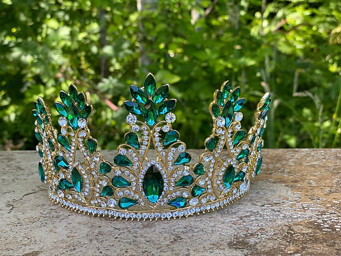 Royal Green Tiara